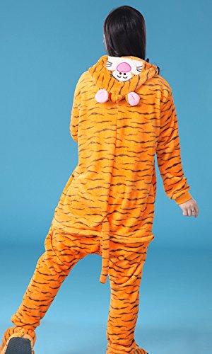 iLoveSIA Adulte Unisexe Ensemble de Pyjama motif animaux Tigrou