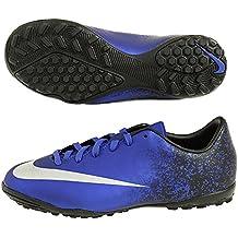 Nike Jr Mercurial Victory V Cr Tf - Botas para niño, color azul / negro