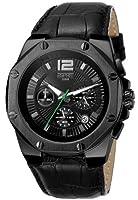 Reloj Esprit ES102881003 de cuarzo para hombre con correa de piel, color negro de Esprit