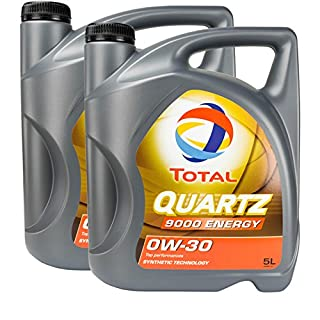 2x MOTORÖL TOTAL QUARTZ 9000 ENERGY 0W-30 5L MB