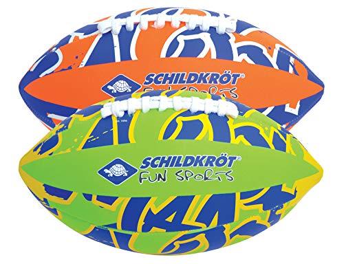 Schildkröt Neopren American Football, Größe 6, 26,5 x 15 cm, farblich sortiert, griffige textile Oberfläche, salzwasserfest, ideal für Stand & Garten, 970289