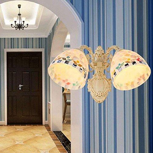 HAIZHEN Wandleuchte Die einzigen double Wandleuchte Wandleuchte Zimmer Schlafzimmer Lampe Lampen Flur Wandleuchte (Farbe: A2)