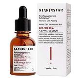 Best AHA Sieri - STARINSTAR Miracle siero, AHA.BHA.PHA intensivo peeling esfoliante Care Review