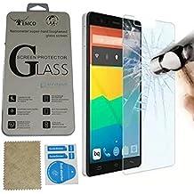 Evess Protector Pantalla Cristal Templado BQ Aquaris E4.5 Maxima Proteccion Premium