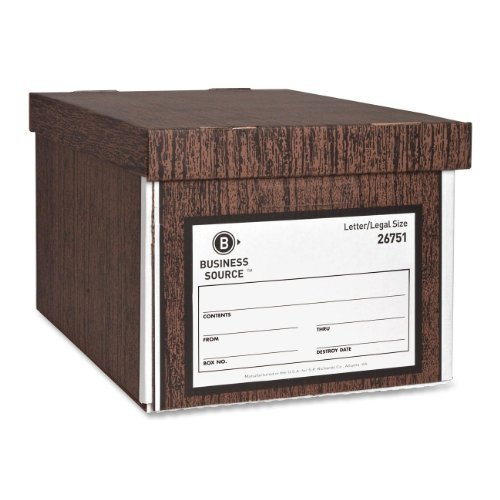 BSN26751 - Business Source File Storage Box by Business Source