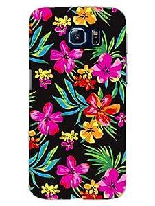 Samsung S6 Cover - I Love Floral - For Flower Lovers - Designer Printed Hard Shell Case