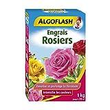 ALGOFLASH Engrais Rosiers, Jusqu'à 20m², Dosette incluse, 1 xkg, ROS1
