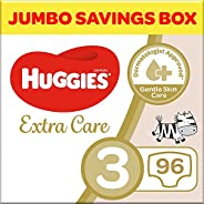 Huggies Extra Care, Size 3 Diapers