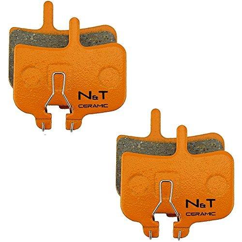 2x Noah and Theo nt-bp007/CR ceramica Freno a disco PASTIGLIE PER HAYES MX-1, HFX-9 E HFX-M