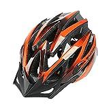 uzexon ligero Adultos casco de bicicleta de montaña bicicleta de carretera sports- (RRP £ 59.99cinco Colros disponibles), rojo