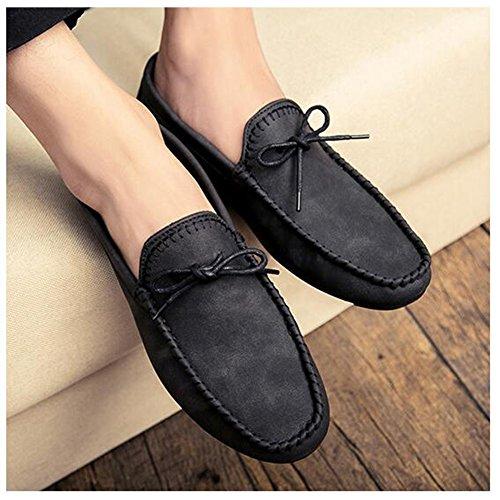 XUEQIN Tendenza delle scarpe da uomo Scarpe casuali degli uomini britannici di autunno Il nuovo comodo da indossare ( Colore : 2 , dimensioni : EU43/UK9/CN44 ) 1