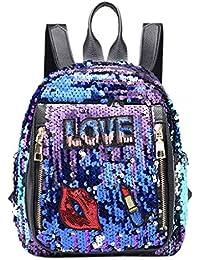 SUDADY-Bolsa Nuevo mochilas mujer Bolsa de lentejuelas para mujer y niña Bolso de hombro