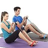 Attrezzatura per esercizi Resistenza del pedale Fascia elastica per palestra di casa Yoga Allenamento Pedale Braccio Allenatore per le gambe