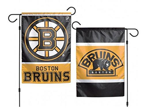 Wincraft NHL Boston Bruins beidseitigen Garten Flagge, 12x 46 - Boston Garden Street Sign