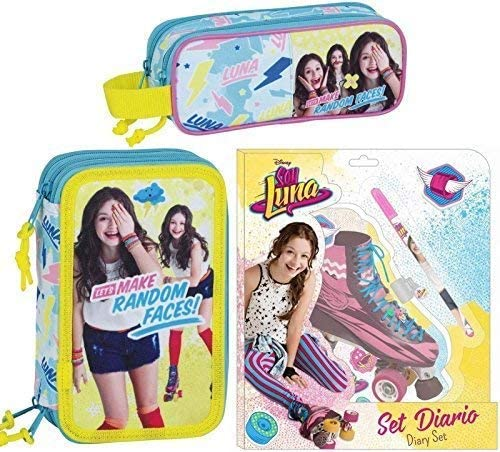 Safta Soy Luna XL Trousse, Trousse Ronde Agenda Jeu de Cadeau, Disney B07FPP123H | Shopping Online