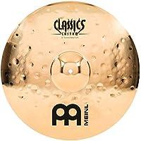 Meinl Cymbals CC18EMC-B Classics Custom Extreme Metal Serie 45,7 cm (18 Zoll) Crash Brilliant Becken