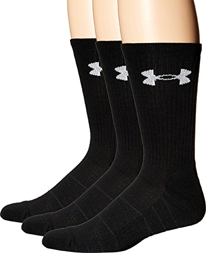 Under Armour Herren Sportswear Socken und Strümpfe Team OTC Socken & Strümpfe, Black, L - Brady Tom Socken