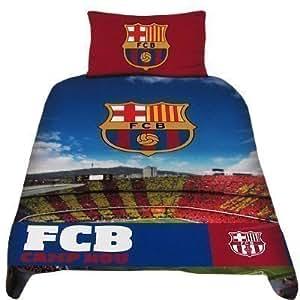offiziell tc barcelona stadium bettw sche set ein gro es geschenk f r herren jungen s hne. Black Bedroom Furniture Sets. Home Design Ideas