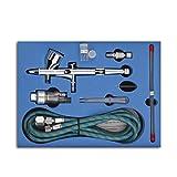 SP180K 0.2/0.3/0.5mm 9cc CUP Disparador de doble acción profesional Air-paint Control aerógrafo...