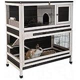 clapier bois d 39 interieur restland animalerie. Black Bedroom Furniture Sets. Home Design Ideas