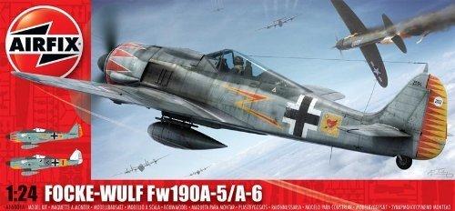Airfix Model Kit - Focke Wulf FW109 A-5/A-6 Plane - 1:24 Scale - A16001A - New by Airfix (1 24 Scale Model Kits)