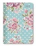 Ladytimer Roses 2015 - Taschenplaner/Taschenkalender A6 - Weekly - 192 Seiten