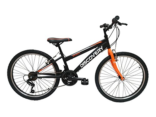 Discovery DP067 - Bicicleta de montaña mountainbike B.T.T. 24'. Cambio fricción, 18 Velocidades. Para niño