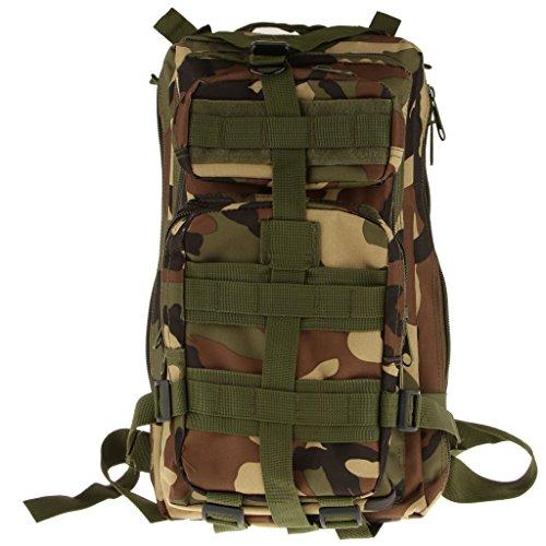 Imagen de bolsa de senderismo al aire libre táctica militar  de senderismo acampar 30l  camo