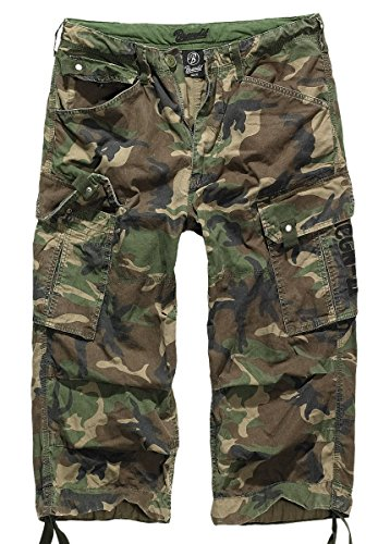 Brandit Columbia Mountain 3/4 Shorts, Gr. M, woodland