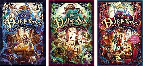 3 Bände der Duftapotheke Reihe von Anna Ruhe 1. EIN Geheimnis liegt in der Luft & 2. Das Rätsel der schwarzen Blume & 3. Das falsche Spiel der Meisterin