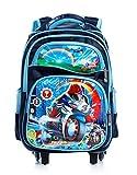 #7: Dolphy Blue Unique Design Children's Trolley Bag