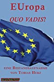 EUropa quo vadis?: Eine Bestandsaufnahme zur Lage der Europäischen Union