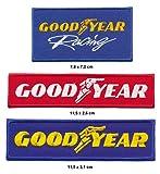 Royal Classics Good Year Aufnäher Aufbügler Patch 3 Stück Reifen F1 Formel 1 Rennsport TURBOVERSAND