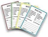 Kigima Umzugs-Etiketten Kartonlabels DIN A6 104 Stück beschreibbar