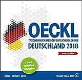 OECKL. Taschenbuch des Öffentlichen Lebens - Deutschland 2018 - CD-ROM: 67. Jahrgang - Brigitte Kuss