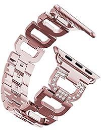 341ac2ed0816 Bracelet Apple Watch 38mm Series 3 Femme Rose,Bracelet Apple Watch Serie 3  Bracelet iWatch