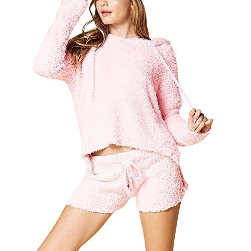 (Mosstars Damen Hoodies ❤Halloween Traningsanzug Damen Langarm Solides Bow Sweatshirt Kapuzenpullover Sweatshirt Print Kapuzenpulli Tops Jumper Kaputzen Oversize Jacket)