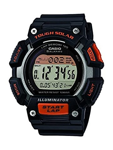 Casio Collection - Herren-Armbanduhr mit Digital-Display und Resin-Armband - STL-S110H-1AEF