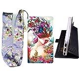 Lovewlb Hülle für Crosscall Core-X3 Hülle Flip PU-Leder + Silikon Cover Case Fest 360° Schutz HD
