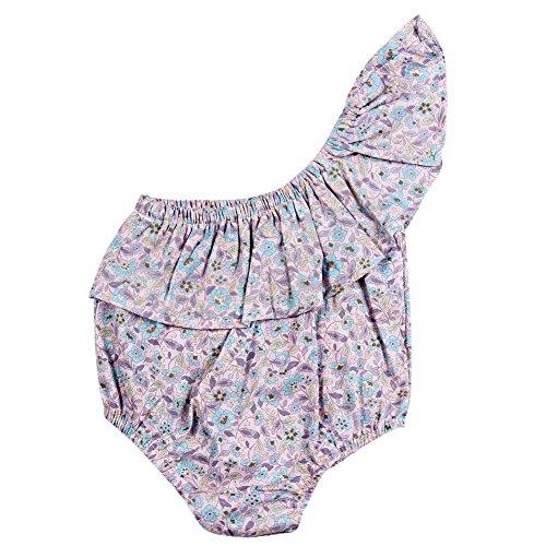 Baby Girl Romper Spring Summer Short Sleeve One-piece Jumpsuit Beachwear