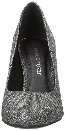 Marco Tozzi - 22405, Scarpe col tacco Donna Grigio (Anthracite Met 239)