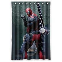 Hulk Deadpool Customized Waterproof Shower Curtain [cortina de ducha] Bathroom Curtains 36x72 inches [XKOWDEF2027]