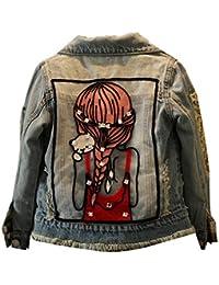 8535ae3a0d60 Suchergebnis auf Amazon.de für  Jeansjacke Jeans Mädchen 140  Bekleidung