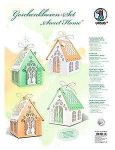 Ursus 27700099Juego de Manualidades Cajas de Regalo Sweet Home, Bunny