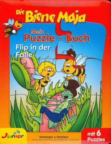 Biene Maja - Mein Puzzlebuch: Flip in der Falle