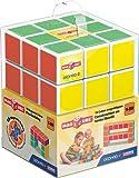 Geomag- Free Building Gioco di Costruzione con Cubetti Magnetici, Multicolore, 126