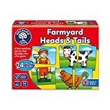 Best Toys For A Two Year Olds - Orchard Toys Farmyard Heads and Tails Game Review