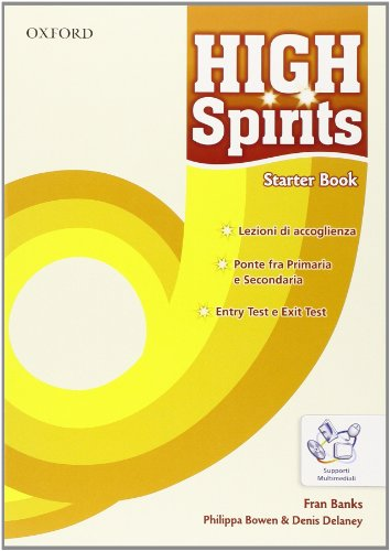 High spirits. Student's book-Workbook-Extrabook. Per la Scuola media. Con CD-ROM. Con espansione online: 1