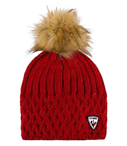 Rossignol Damen Mütze Skimütze Strickmütze Isy RLHWH18, Farbe:Rot, Artikel:-307...