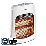 TROTEC Stufetta a raggi infrarossi IRS 800 E | 2 livelli di potenza termica per un massimo di 800 Watt | infrarossi